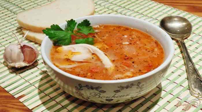 Суп харчо з куркою – рецепти приготування в домашніх умовах