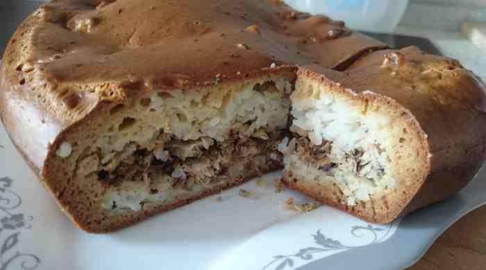 Смачний рибний пиріг – прості рецепти з консервованою рибою