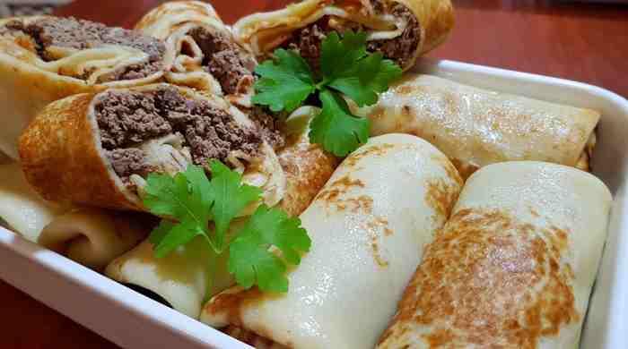 Фаршировані млинці з печінкою, прості, смачні рецепти начинки