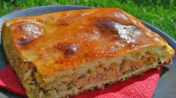 Рибний пиріг в духовці, прості, швидкі, смачні рецепти з рибою