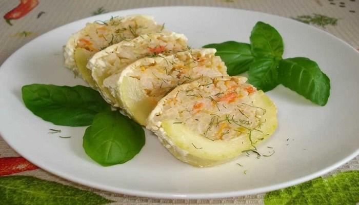 Рецепти кабачків, фаршированих овочів, запечених в духовці