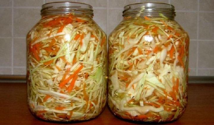 Квашена капуста на зиму, рецепти швидкого приготування капусти