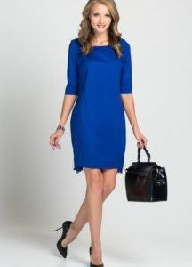 0a903d540314b8 З чим носити синє плаття: як кносить темно-синє плаття, до коліна, з  паєтками
